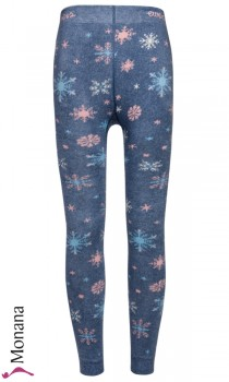 Ewers thermo leggings Eisblumen