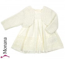 Mayoral baby dress offwhite