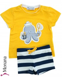 Mayoral swimming set with swimming trunks & t-shirt Krake