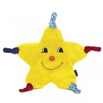 Sterntaler Cuddle cloth Kleiner Stern Mond & stars Dimensions: 33cm <b>Ready for delivery