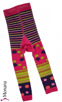 Ewers Strickleggings pink<br>Größe: 92/98, 122/128
