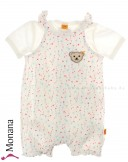 Steiff Collection Baby-Spieler & Kurzarmbody Sweet Heart<br>Größe: 68, 80