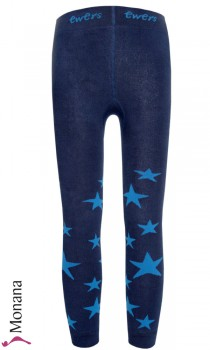 Ewers thermo leggings stars navy