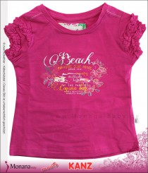 Kanz t-shirt pink Beach Club
