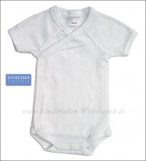 Schiesser short sleeve wrap body white
