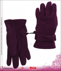 Döll Fleece-Fingerhandschuhe purple