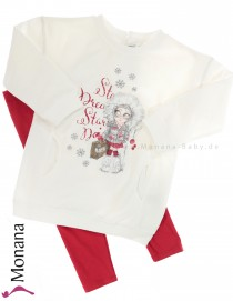 Mayoral child fashion set Sweatshirt & leggings Wintergirl