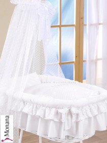 Leipold bed linen in Candy white 80 x 80 cm & 35 x 40 cm