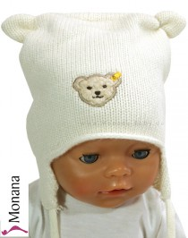 Steiff Collection Babymütze Little Bear<br>Größe: 37, 39