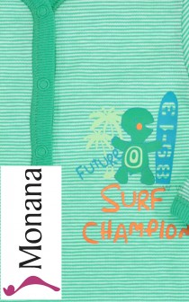 Schiesser sleeping suit Surf Champion   pic 1