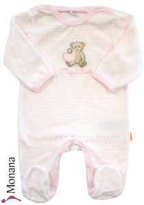 Steiff Collection Nicki-Overall my first Steiff rosa<br>Größe: 80, 86, 92