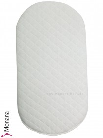 Leipold mattress for wicker crib Dimensions: ca. 70 x 37 cm <b>Ready for delivery