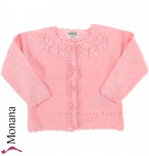 Kanz Strickjacke rosa Catch the Cloud<br>Größe: 68, 74, 80