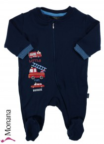 Schiesser sleeping suit firetruck