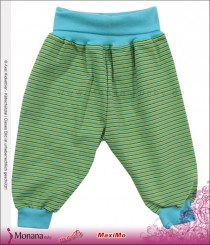 Maximo baby trousers green-blue