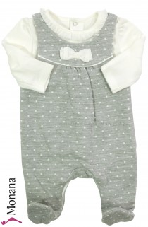 Mayoral baby pyjama gray