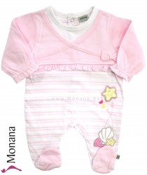 Jacky sleeping suit pink Little Starfish