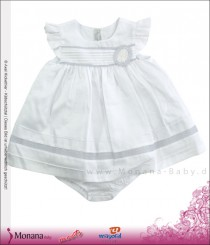 Mayoral baby dress white