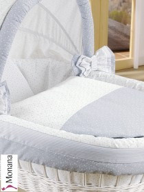 Leipold bed linen in Trio 80 x 80 cm & 35 x 40 cm <b>Ready for delivery
