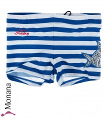 Schiesser Bade-Shorts Retro Capt`n Sharky
