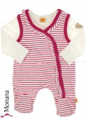 Steiff Collection Baby-Strampler Sweet Teddy Girl<br>Größe: 50, 56, 62, 68, 74