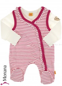 Steiff Collection Baby-Strampler Sweet Teddy Girl<br>Größe: 56, 62, 74