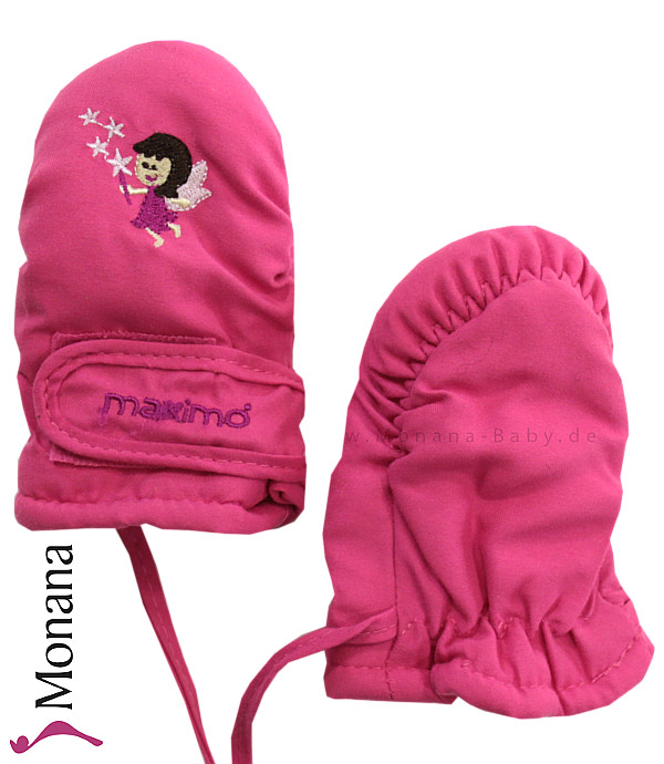 Maximo Thermo-Fausthandschuhe pink Fee<br>Größe: 3 Monate, 6 Monate, 12 Monate