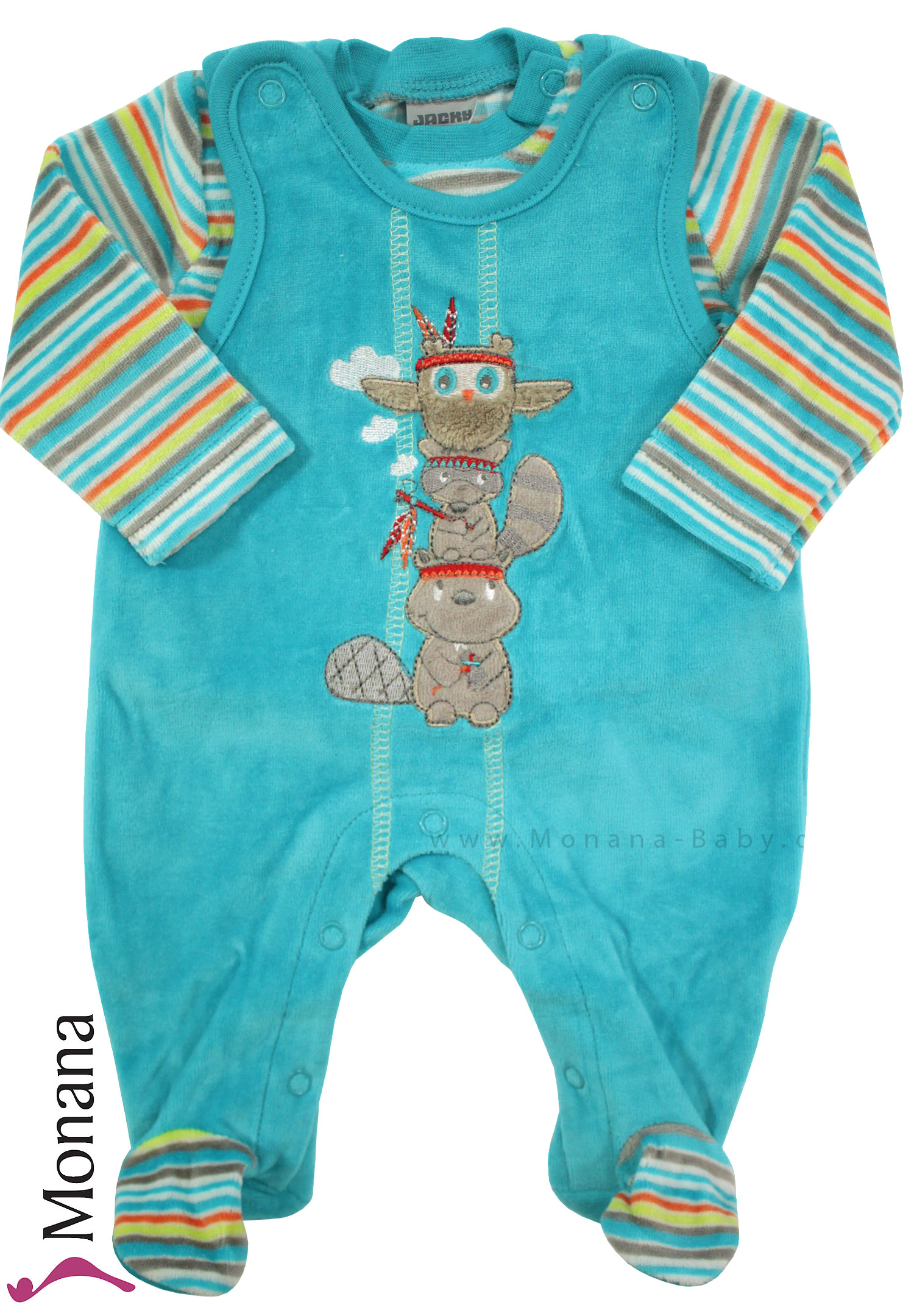 Jacky Baby-Strampler & Baby-Shirt Indian Forest<br>Größe: 50