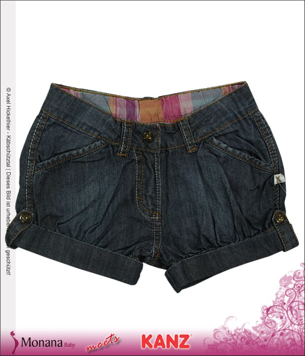 Kanz Shorts Summer Flowers<br>Größe: 116, 128