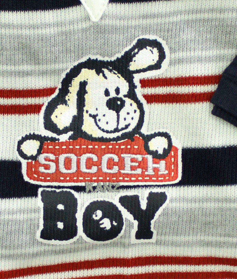 kanz baby strampler shirt soccer boy. Black Bedroom Furniture Sets. Home Design Ideas