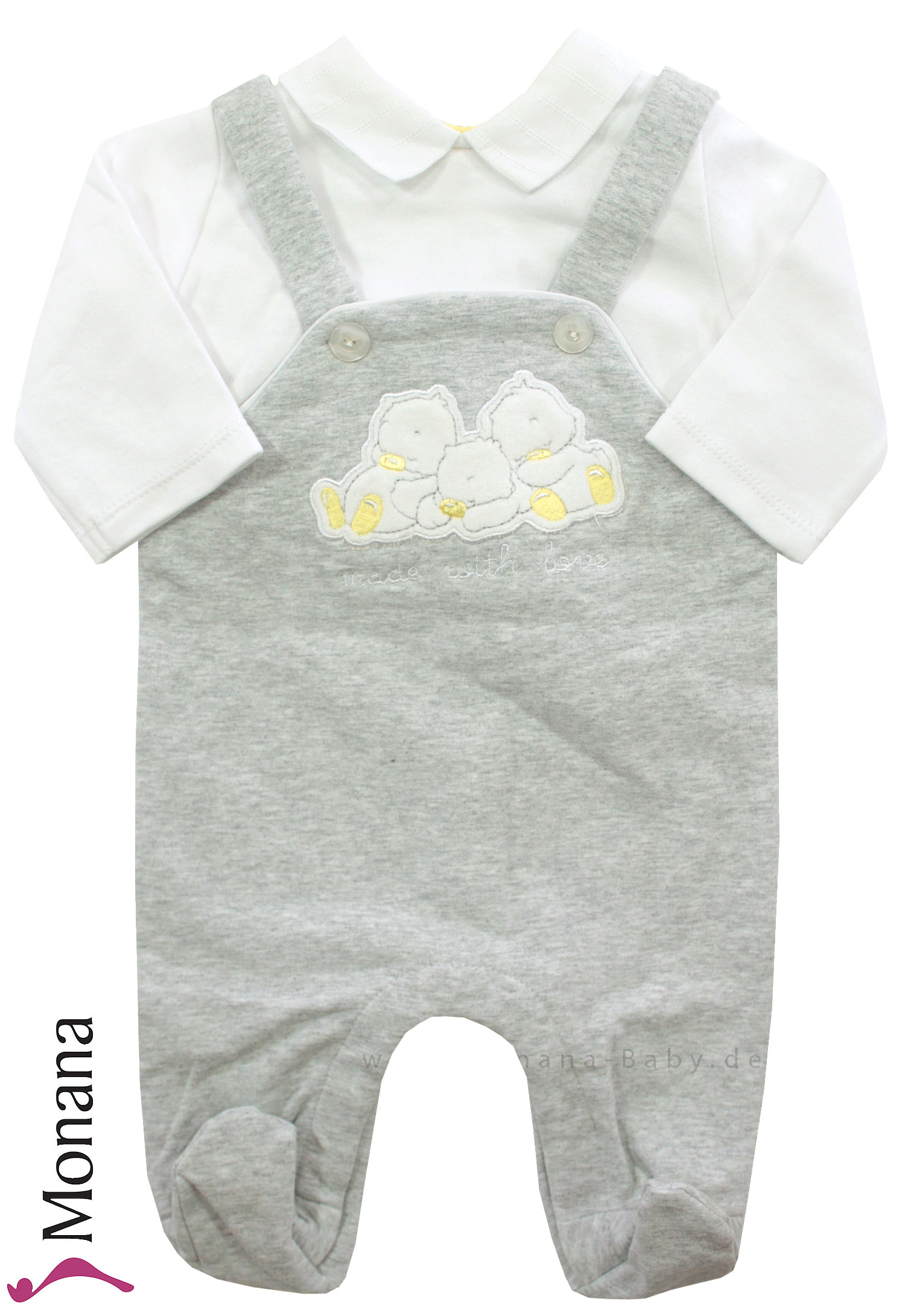Mayoral Baby-Overall made with love<br>Größe: 68