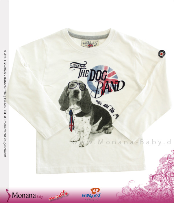 Mayoral Shirt Liverpool The Dog Band<br>Größe: 104