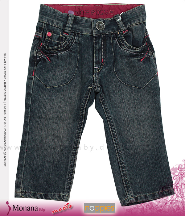 Noppies Jeanshose girl Goose Dark wash<br>Größe: 80, 86, 92