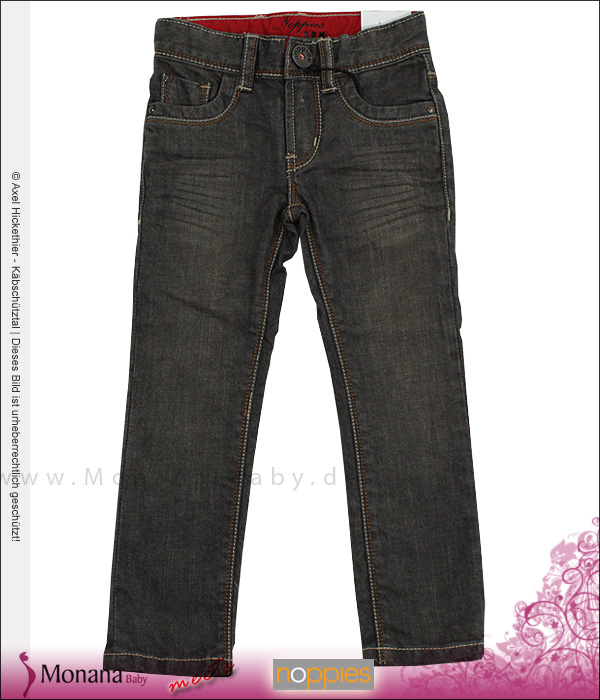 Noppies Jeanshose girl Sugar Black denim<br>Größe: 98, 122