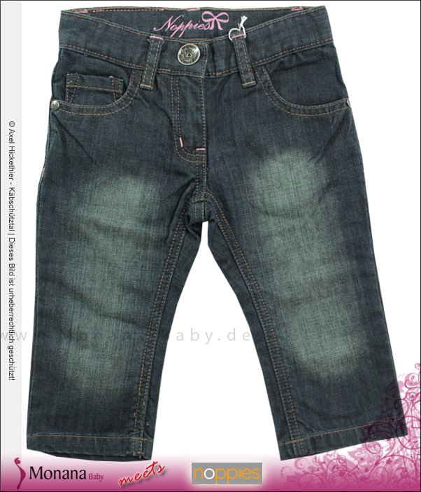 Noppies Jeanshose Louise dark wash<br>Größe: 86, 98, 104