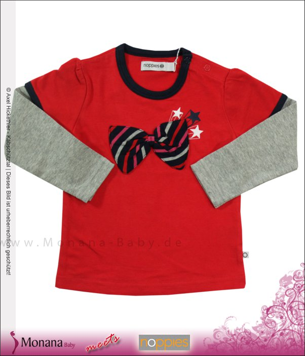 Noppies Shirt Batwoman red<br>Größe: 86, 92, 98