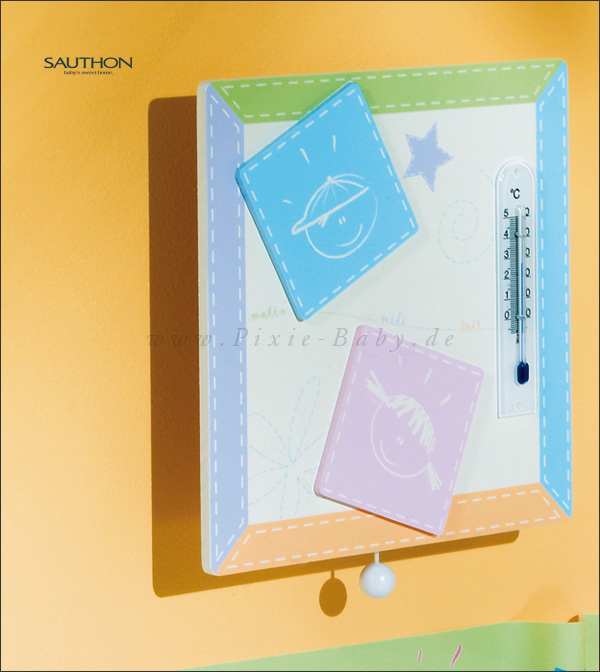 Sauthon Spieluhr & Raumthermometer Colors<br><b>Sofort lieferbar</b>