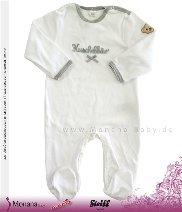 Steiff Collection Nicki-Overall Kuschelbär<br>Größe: 92