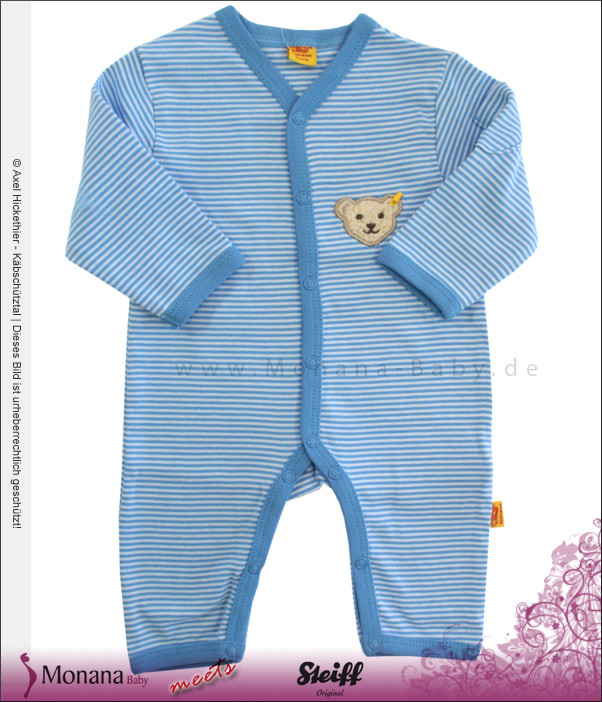 Steiff Collection Baby-Overall blau<br>Größe: 56