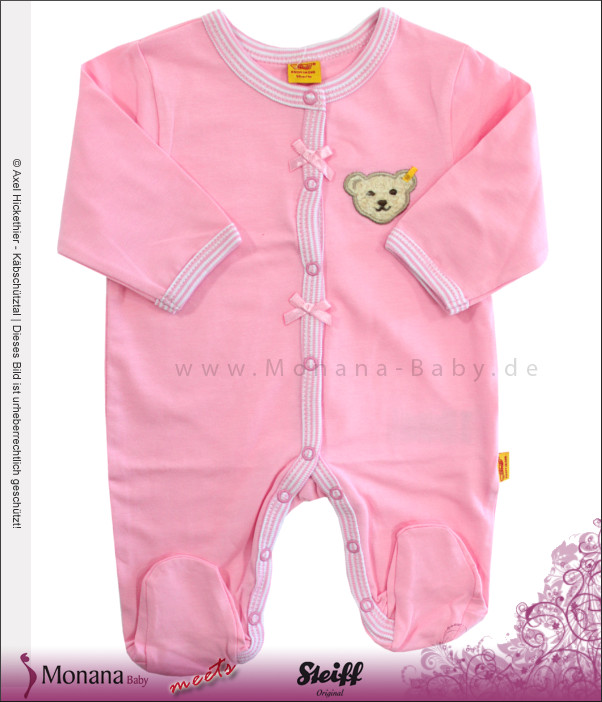 Steiff Collection Baby-Overall Summer Colours rosa<br>Größe: 62