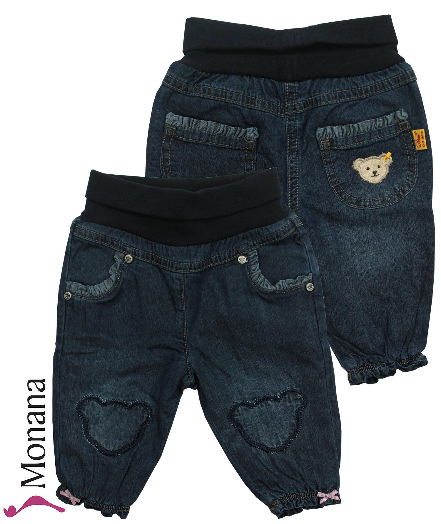 Steiff Collection Jeans-Babyhose Autumn Poem<br>Größe: 62