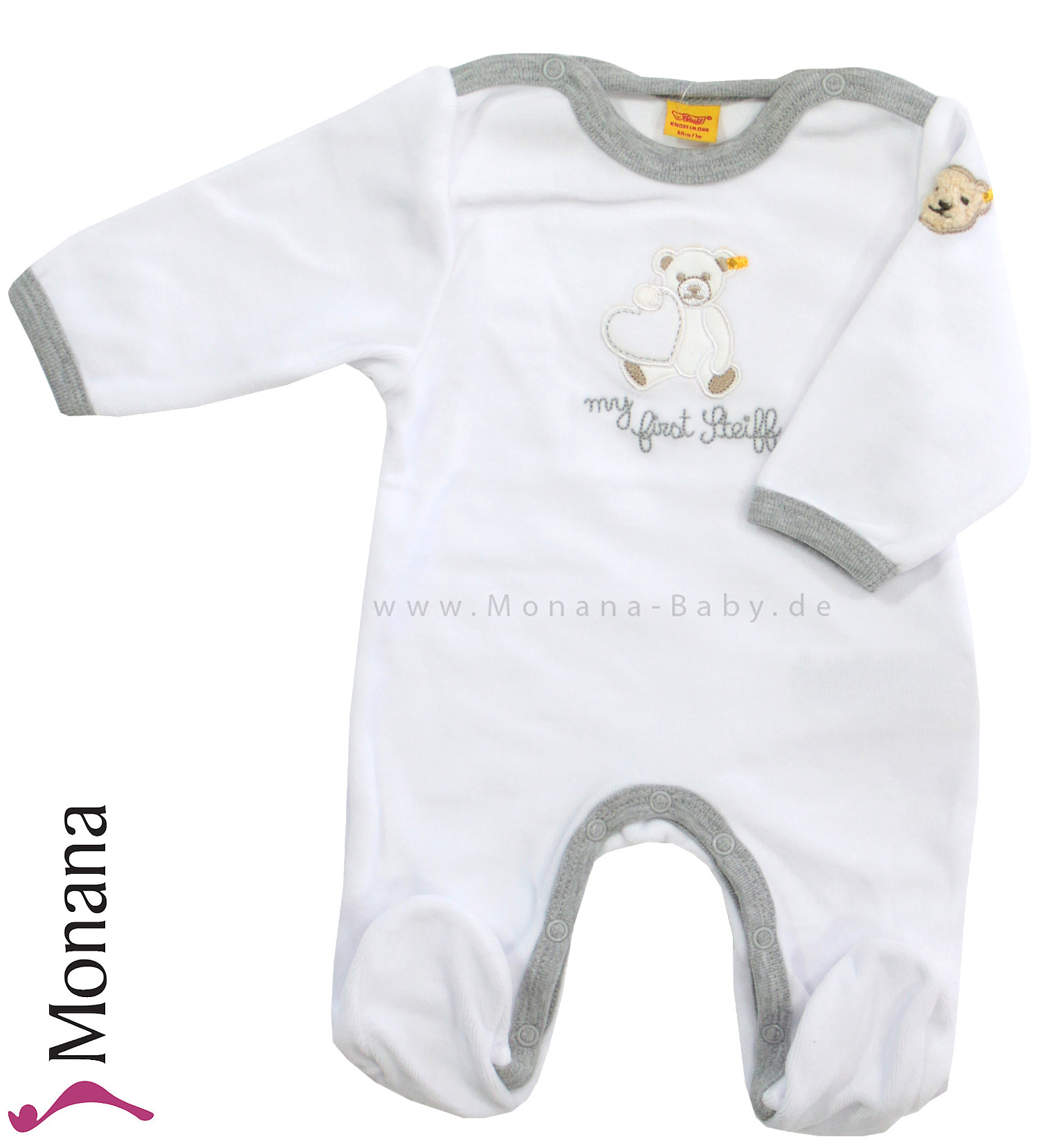 Steiff Collection Nicki-Overall My first Steiff<br>Größe: 68