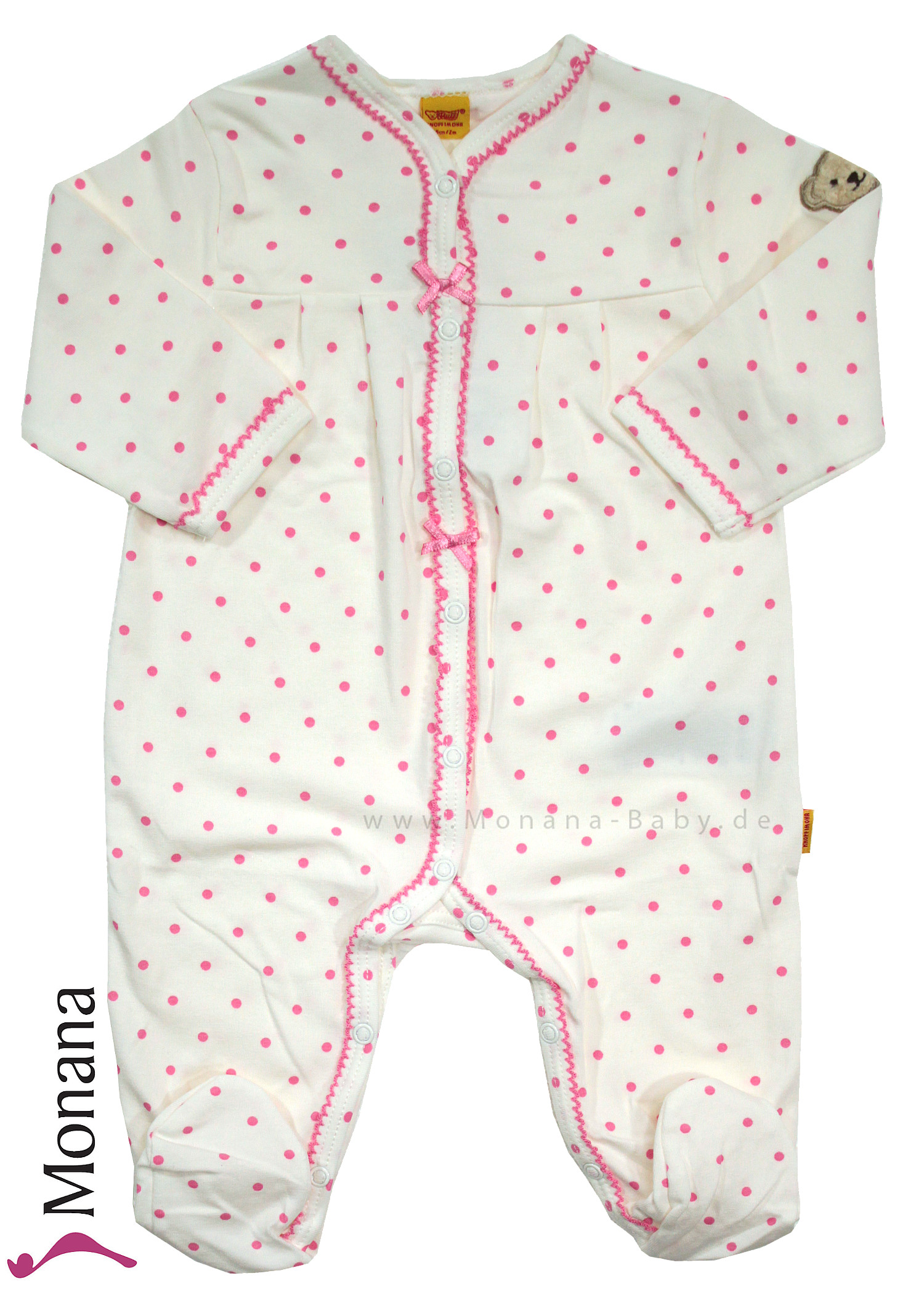 Steiff Collection Baby-Overall Vintage Flower<br>Größe: 68