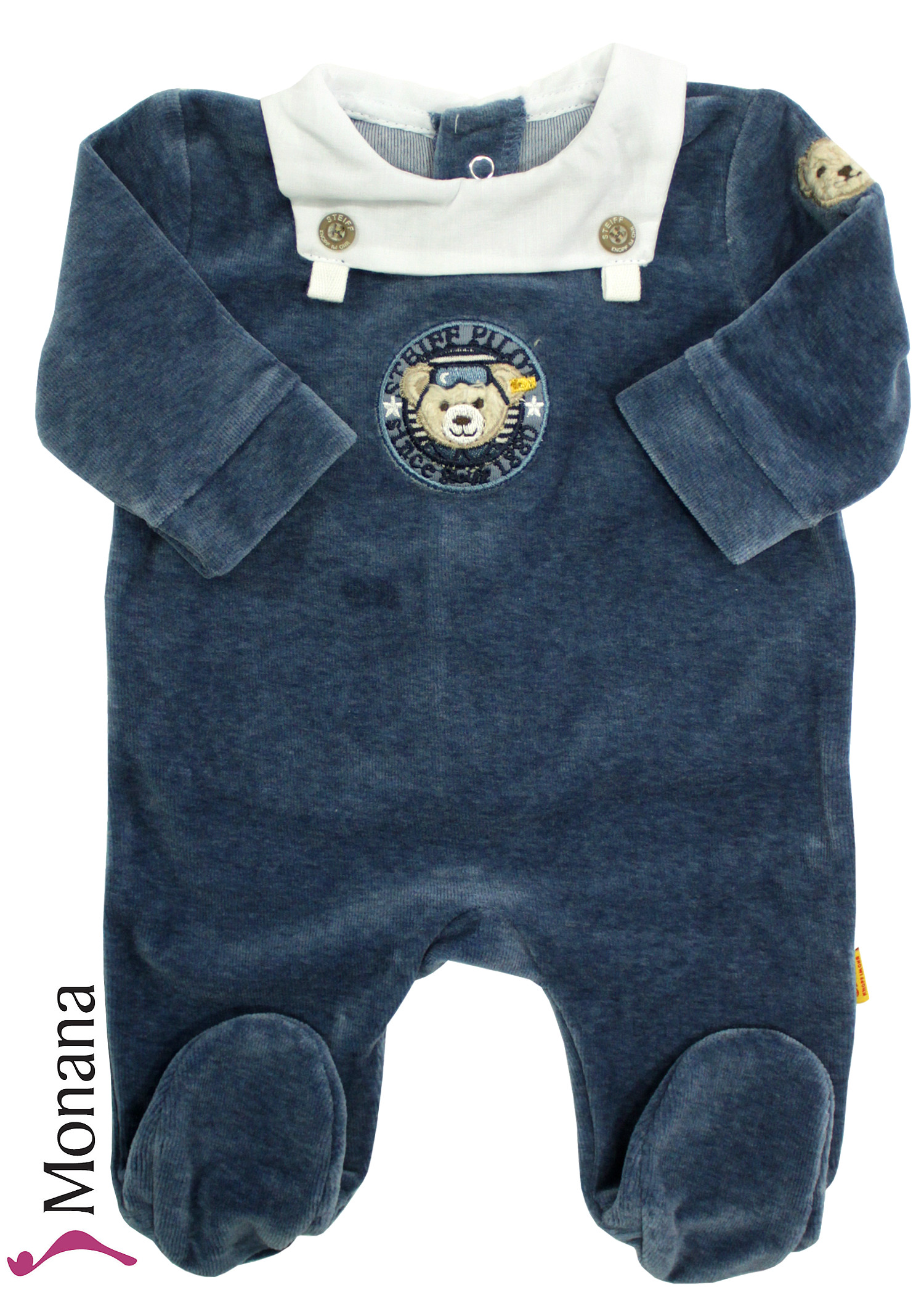 Steiff Collection Nicki-Overall Little Aviator<br>Größe: 56