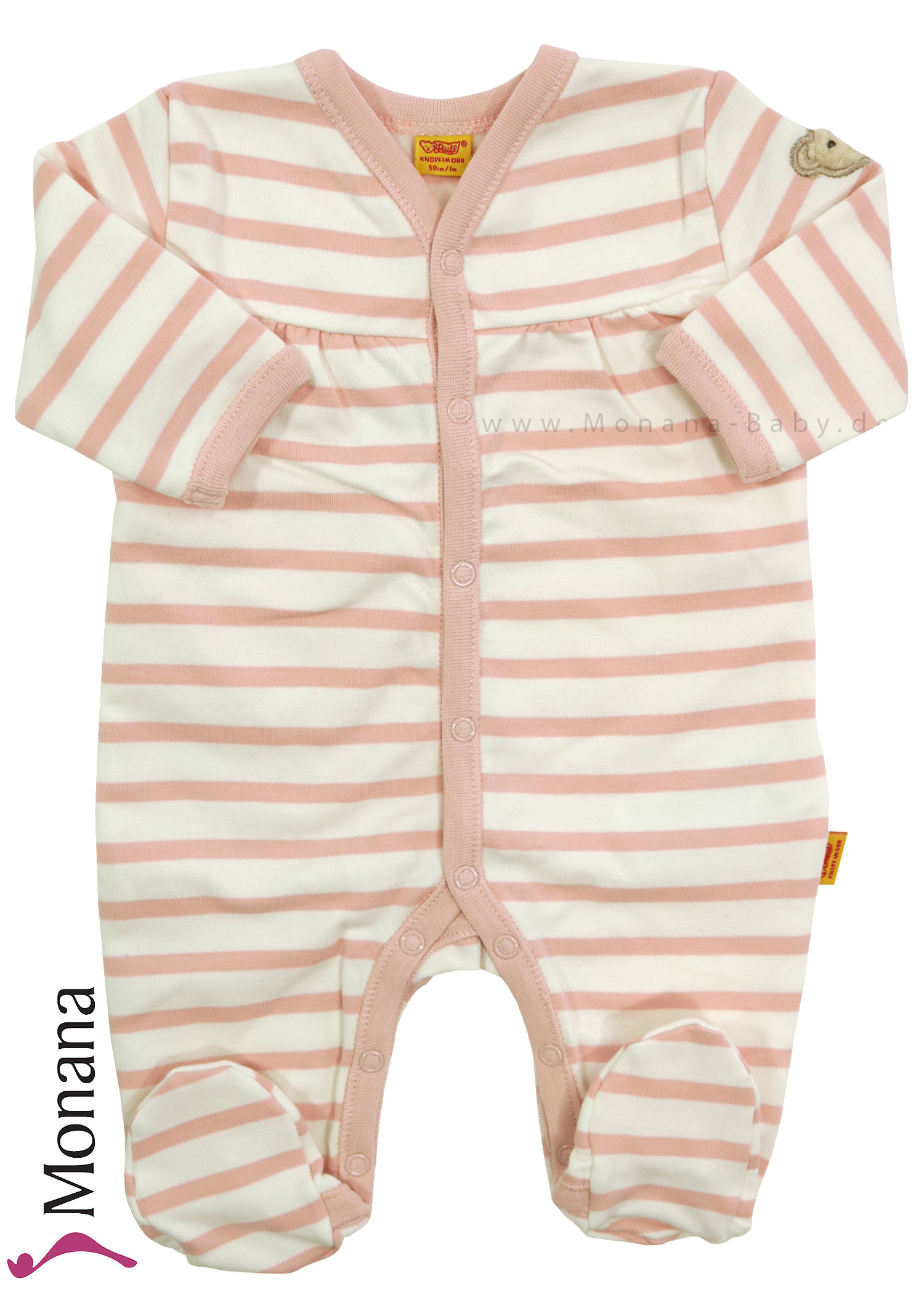 Steiff Collection Baby-Overall Little Bear Girls rosa<br>Größe: 74