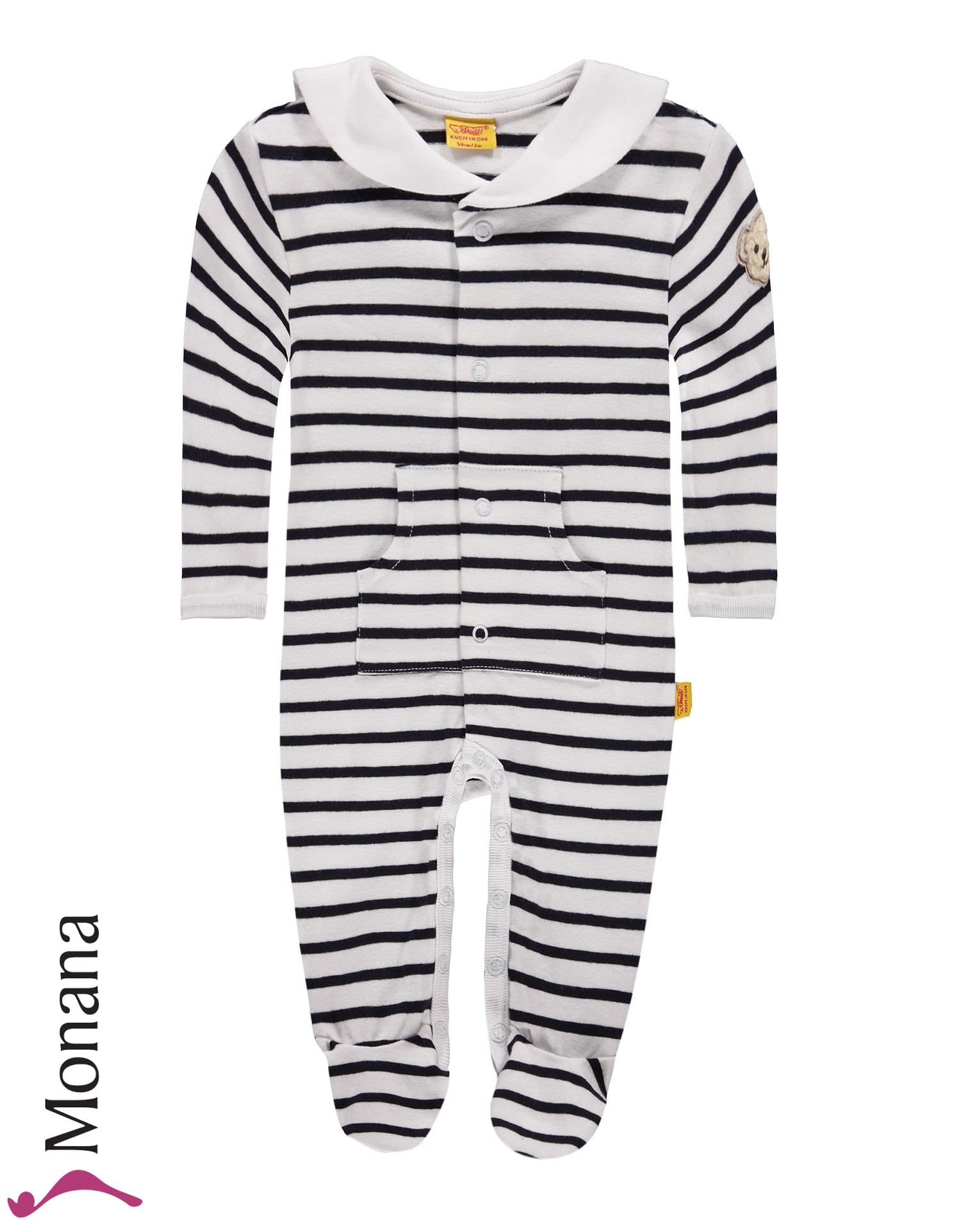 Steiff Collection Baby-Strampler Little Pirat<br>Größe: 50, 56, 68, 74