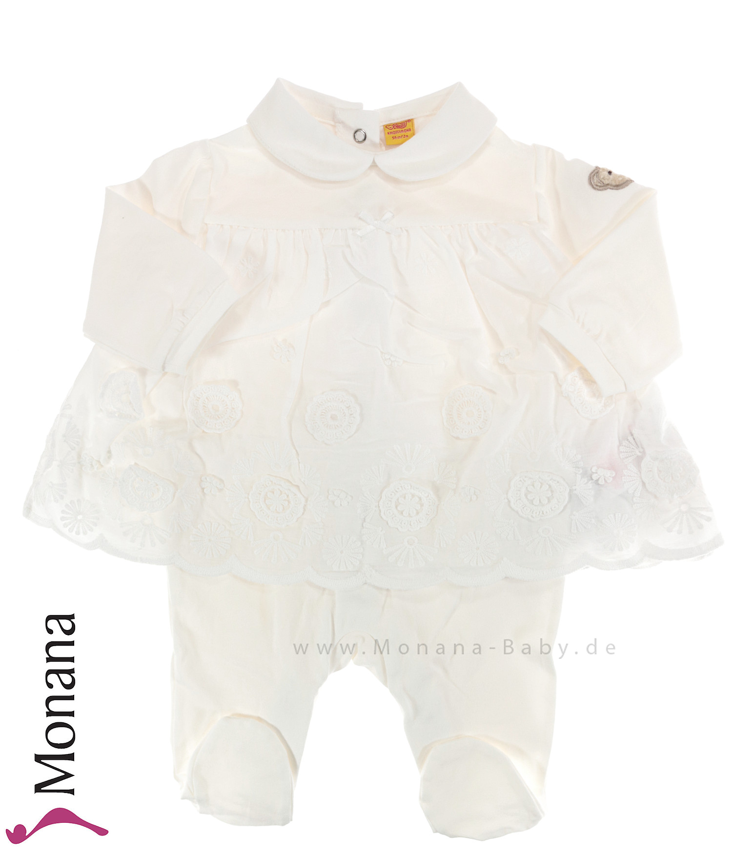 Steiff Collection Kleidchen-Strampler Little Special Day<br>Größe: 56