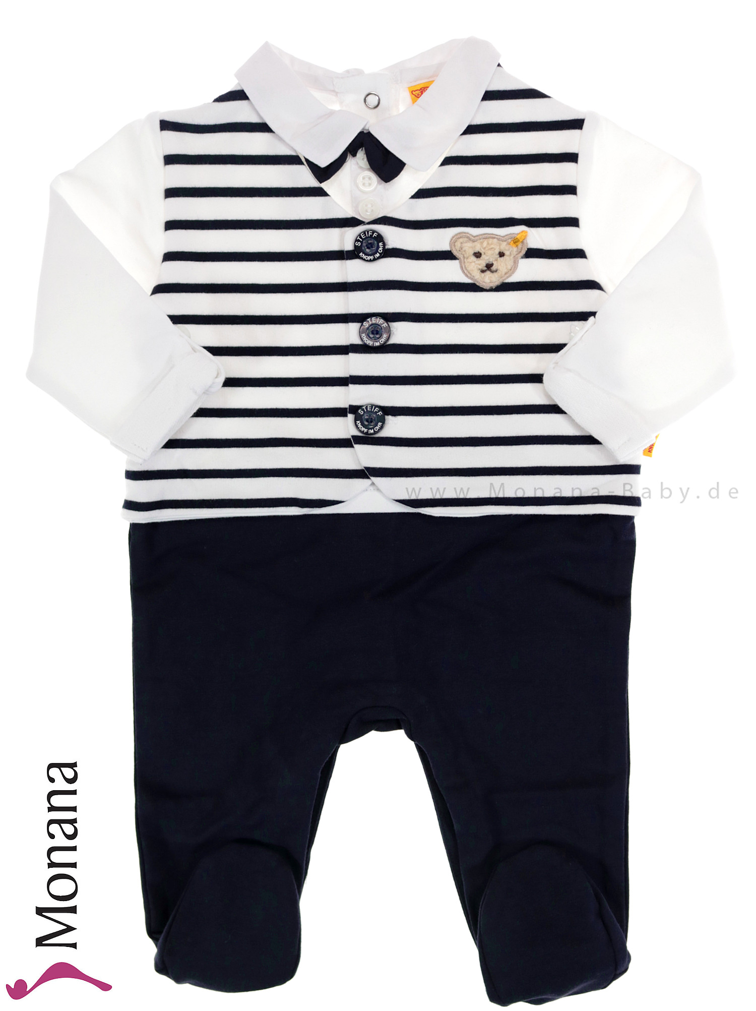 Steiff Collection Baby-Strampler Little Special Day<br>Größe: 80