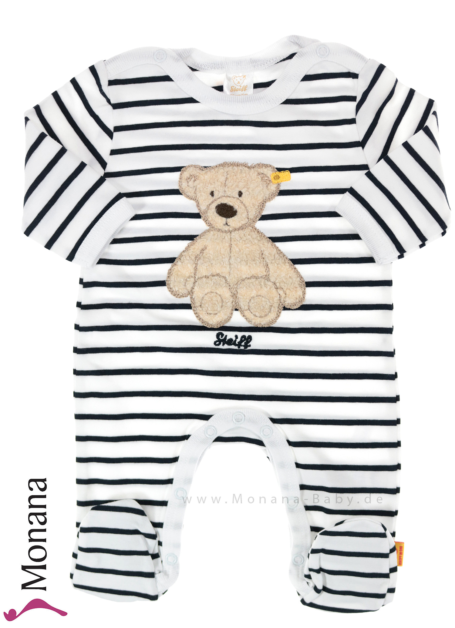 Steiff Collection Overall Teddy Bear<br>Größe: 80, 86