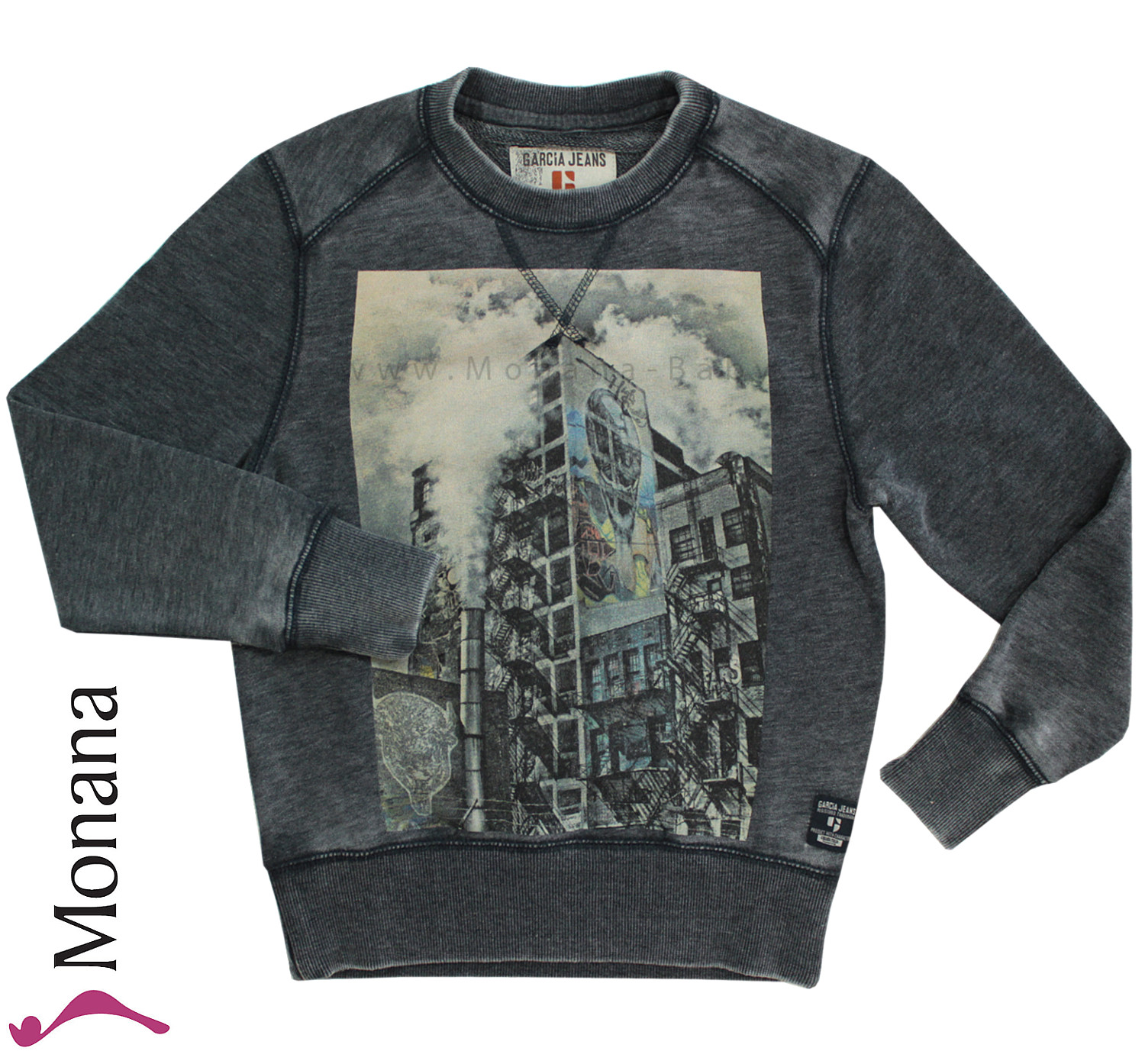 Garcia Sweater Shirt dim grey<br>Größe: 128/134, 152/158